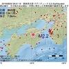 2016年08月02日 06時21分 徳島県北部でM2.2の地震