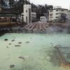 草津♨湯畑ライトアップ