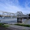 天竜川の鹿島橋、カンチレバートラスは格好良かった