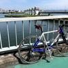 自転車で日焼けする