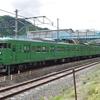 山陰本線京都口をゆく113系を撮る。