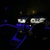 メルセデスベンツ W213 Eクラスセダン エアコン吹き出し口をイルミネーテッドエアアウトレットに交換