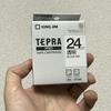 JustPurchased: テプラ 透明 24mm