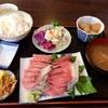 【当店食べログ初クチコミ】諸磯の「山崎屋食堂」でまぐろ刺身定食