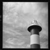 秋の石狩灯台