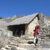マチュピチュ  水汲み場と太陽の神殿