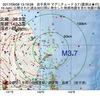 2017年09月08日 13時19分 岩手県沖でM3.7の地震