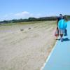 今年も行って来ました。大洗サンビーチ無料エリアで潮干狩り