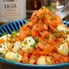 【レシピ】ピーラーにんじんとモッツァレラチーズの和風マリネ