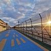 一時帰国ついでに聖地巡礼。岡山空港(岡山桃太郎空港)のミニ滑走路。【前略 雲の上より】