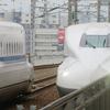 南部鉄器マン・近鉄百貨店橿原店へ新幹線で移動・・・・