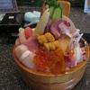 日本三景の松島に行ったら美味しい海鮮を!まぐろ茶屋さんの名物桶ちらし♡