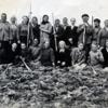 国後島ゴロブニノ村(泊) 開村記念日を祝う1947年10月15日