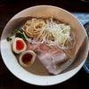 【縁乃介商店】淡路の濃厚ポタチキスープととろけるレアチャーシューがおいしい。