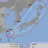 2017年 台風18号 - 9/15時点で想定される影響