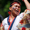 うらじゃ:飲めや踊れや華咲宴、5日午前11時37分ころ、野田屋町公園演舞場