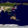 2017年総飛行マイル数w