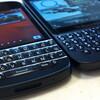 Blackberryだけでブログを更新するのは大変!