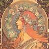 【芸術】「みんなのミュシャ」展:美麗な円環と華麗な装飾が囲う綺麗な女性像!