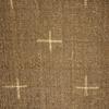 着物生地(192)十字絣織り出し手織り真綿紬