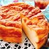 お砂糖なし☆しっとり!卵とクリチのチーズケーキ