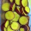 サツマイモのレモン煮作りました。