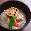 季節野菜の鶏そぼろ餡かけ 平岡 良浩シェフのレシピ