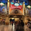 クリスマス開催中のディズニーシーに行ってきた!