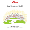 Rails5セットアップしてみました