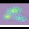 【Python】4.4.2:ガウス混合モデルにおける推論:ギブスサンプリング【緑ベイズ入門のノート】