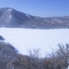 赤城 青空と雪と黒檜山