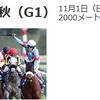 1101天皇賞 (秋)