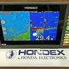 わたしのベスト設定はコレ👆 【 HONDEXの超人気魚探 / PS-900GP-Di・9型ワイド 】