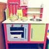 【1歳8か月】クリスマスプレゼントはおままごとキッチン!