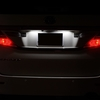 20系アルファードナンバー灯(ライセンスランプ)LED化、交換方法と注意点