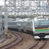 《JR東日本》【写真館222】E233系3000番台先頭の迫力ある15両編成