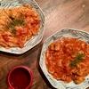 チキンのトマト煮込み&パスタ