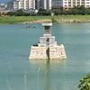 狭山池の龍神社は水上に浮かんでいる!参拝できねぇ~【大阪狭山市】