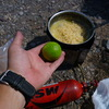 2010年 暑い国メキシコ料理に欠かせないライムを持ち運ぶ