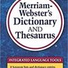 "英語勉強法ーusing ""thesaurus """