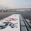ブロンプトン号プチ輪行 『東京水辺ライン水上バス』に乗ってみた いつもの葛西臨海公園~浅草二天門までのプチ輪行船旅