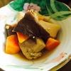 椎茸と高野豆腐と人参と炊いたん。