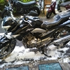 #バイク屋の日常 #スズキ #GSR250 #洗車 #納車 #準備 #気持ちいい季節