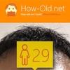 今日の顔年齢測定 186日目