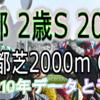 【 京都2歳ステークス 2019】過去10年データと予想