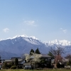 2021年4月20日 残雪の爺ヶ岳登山 南尾根から登るも山頂直前で強風撤退