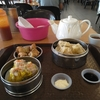 「點心之家」で昼食、近くのGama Supermarketで買い物
