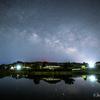 【天体撮影記 第51夜】 千葉県 水田リフレクションと天の川、そして外房からの美しい天の川を