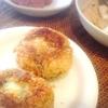 鱈とほうれん草コロッケ、肉豆腐、ソーセージ