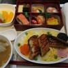 関空サクララウンジと中国国際航空CA162便(関西→北京)ビジネスクラス(シンガポール弾丸旅行1)